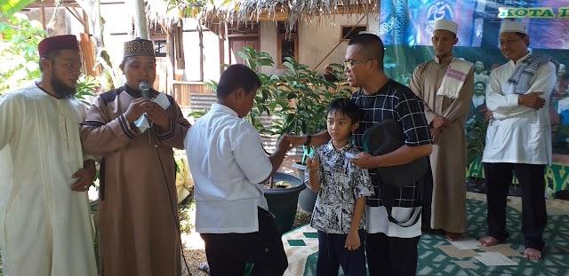 Yayasan Irsadul Hafidz Assyarifiyah Santuni Puluhan Yatim dan Dhuafa