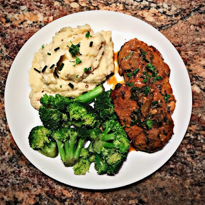 Pork Chops with Dijon Herb Sauce