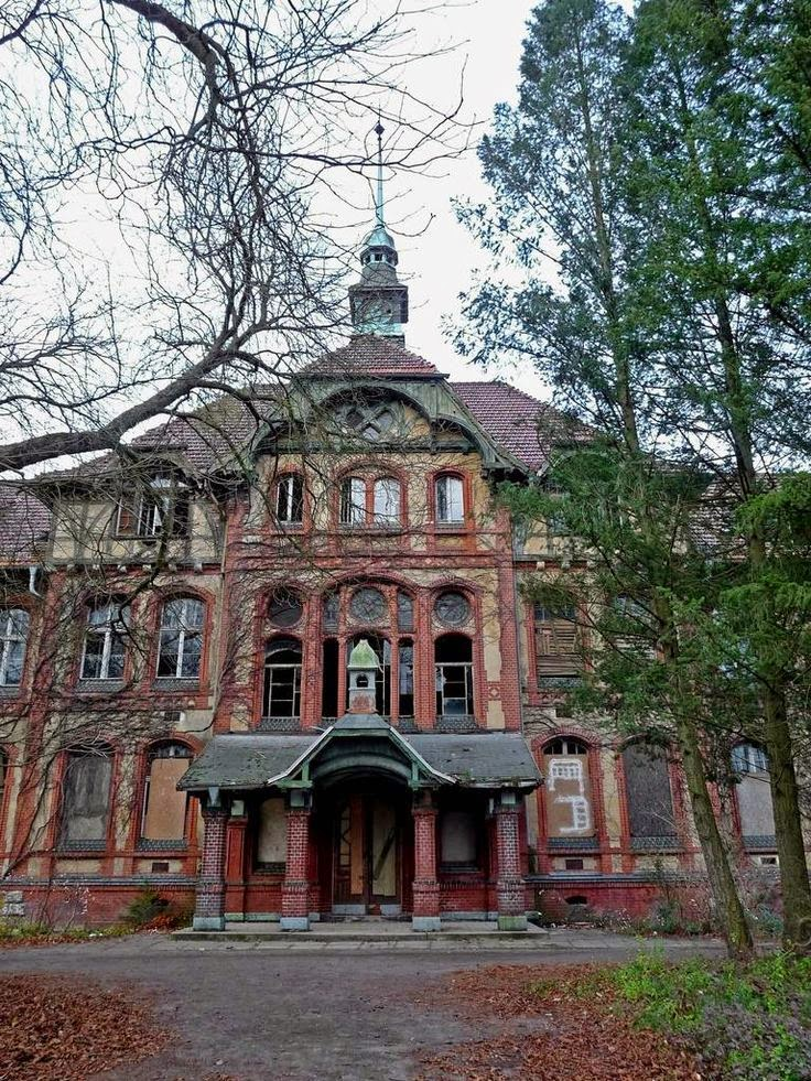 Beelitz-Heilstatten Sanatorium, Germany | 10 Scariest Abandoned Hospitals in the world