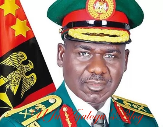 Buratai's warning: Army formations placed on red alert