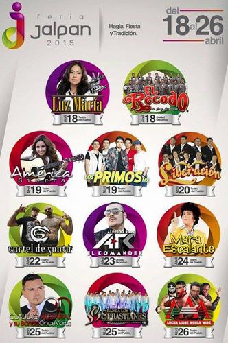 Teatro del pueblo feria jalpan 2015