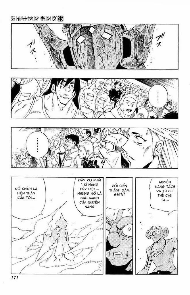 Shaman King [Vua pháp thuật] chap 224 trang 7