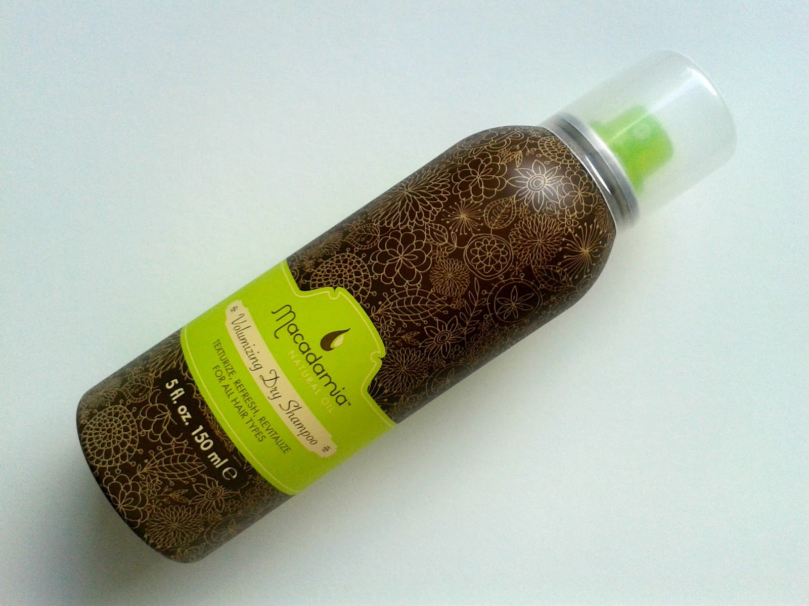 Macadamia Volumizing Dry Shampoo Beauty Review