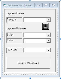 download Coding Program Pembayaran Kredit Kendaraan vb6