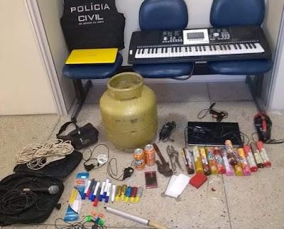 Resultado de imagem para Polícia Civil realiza duas prisões em flagrante na cidade de Poço Branco