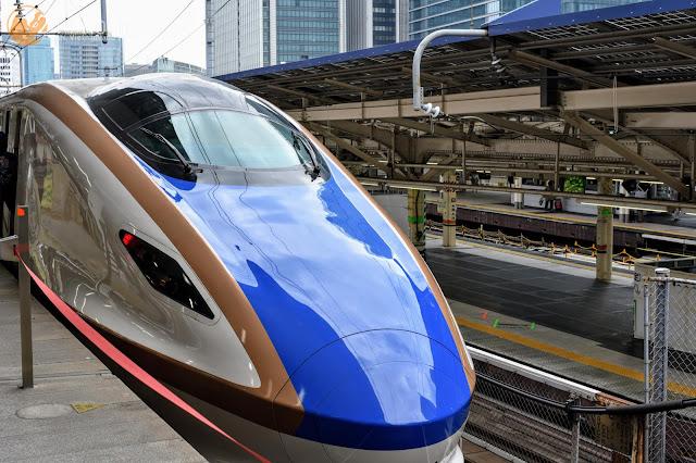 かがやきE7系 Kagayaki-Shinkansen-typeE7-2
