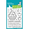 awn Fawn THANKS A BUSHEL Clear Stamps LF1208