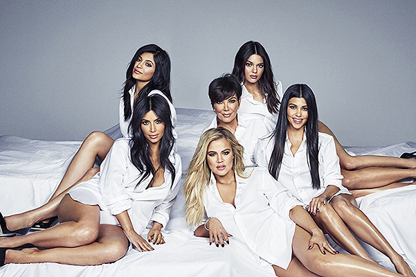 The first joint Kardashian-Jenner sisters cover