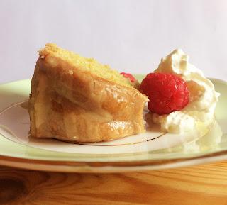 Vanilla Bundt Cake Slice