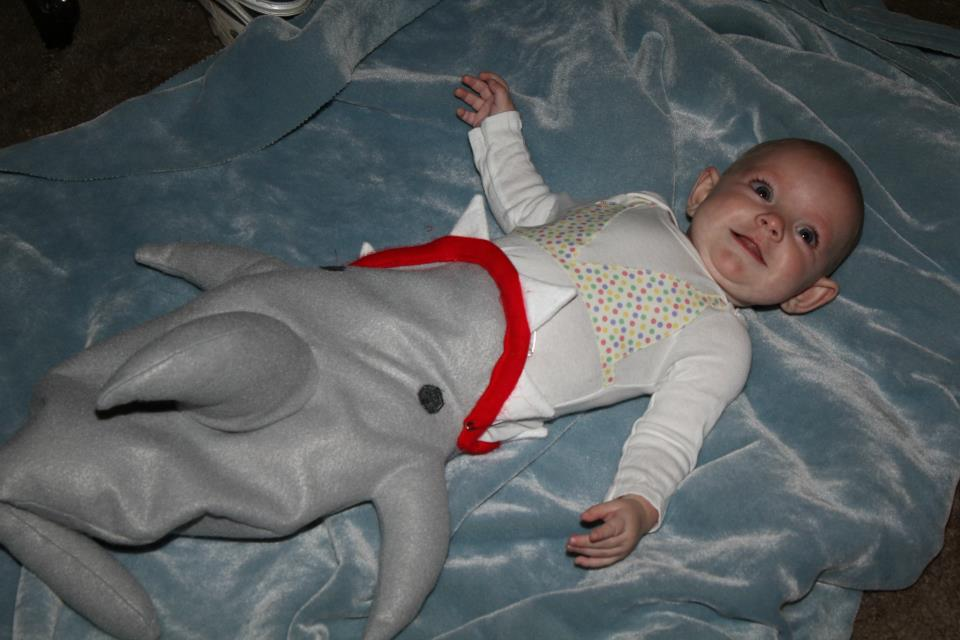 Shark Attack Victim u0026 Lifeguard Halloween Costumes  sc 1 st  nasagreen : baby shark halloween costumes  - Germanpascual.Com