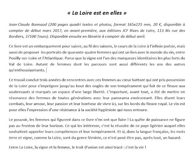 Loire, vigne et femmes