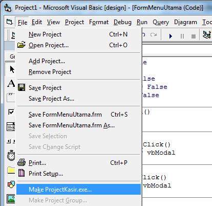 Membuat File Exe Aplikasi Kasir Jnm Javanet Media