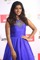 Eesha in Cute Blue Sleevelss Short Frock at Mirchi Music Awards South 2017 ~  Exclusive Celebrities Galleries 041.JPG