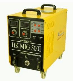 Hình ảnh máy hàn Mig Hồng Ký HK MIG 500I