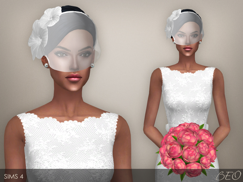 Sims 3 Cc Wedding Hair | beo s wedding dress 39, beo ...