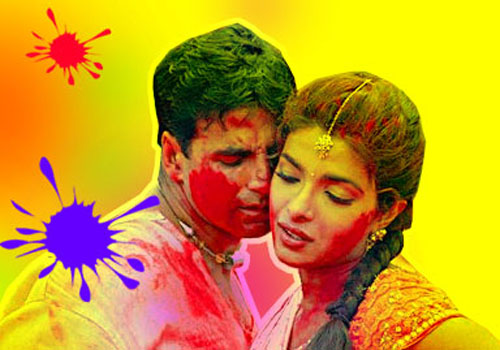 Happy Holi Images, Pictures, Photos of Akshay Kumar
