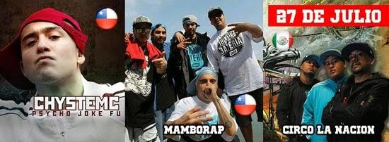 rap y hip hop latinoamericano ,