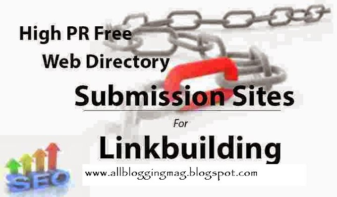 60 High PR DoFollow Directory Submission Sites 2016