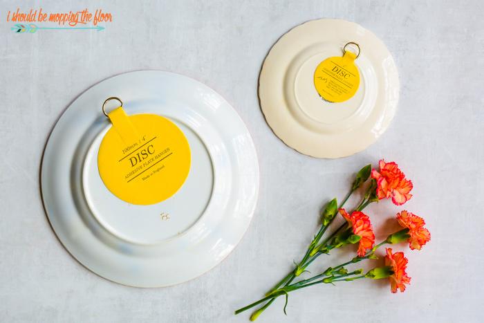Yellow Plate Hangers