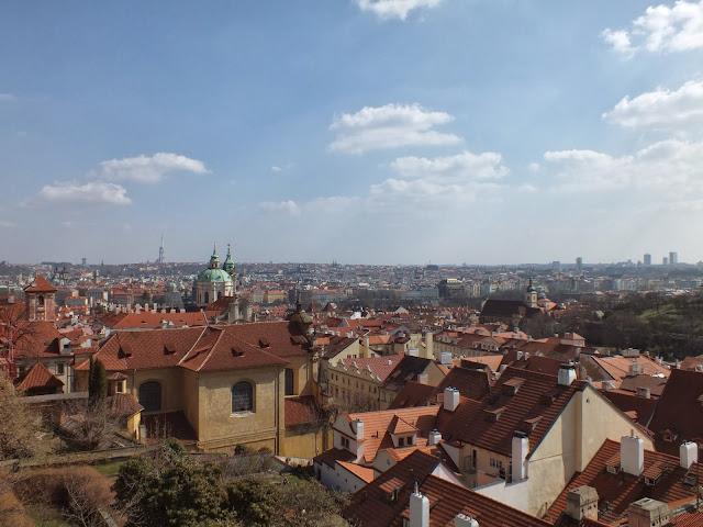 Praga desde el castillo