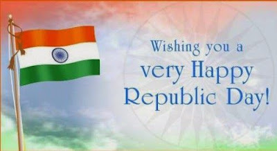 Happy Republic Day Wishes for Friends, Family, Relatives 2017