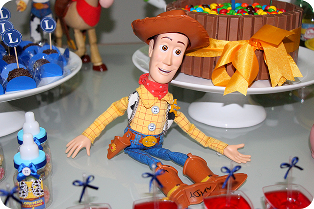 Woody - Mêsversário com Decoração do Toy Story