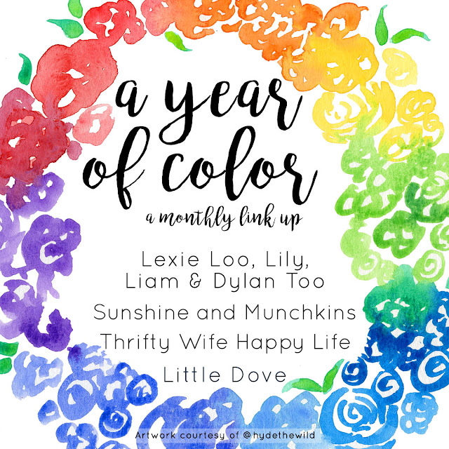 A Year of Color  |  A monthly link up where we share ideas centered around a different color on the third Friday of each month.