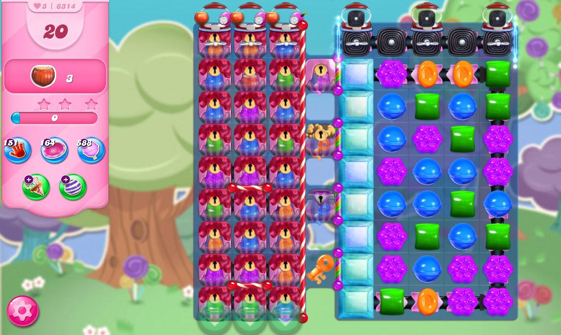 Candy Crush Saga level 6314