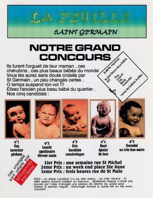 « La feuille Saint-Germain » - Numéro 04 - Décembre 1997