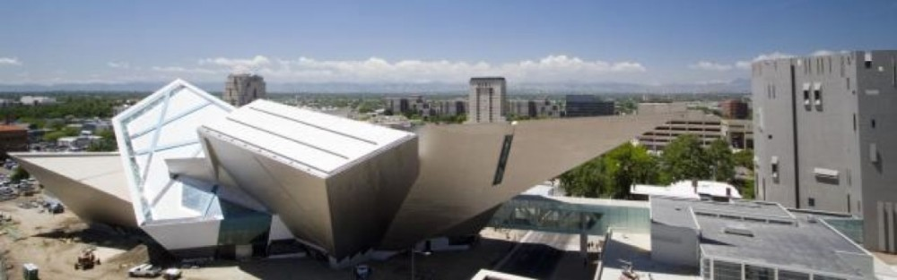 Extension to the Denver Art Museum Frederic C Hamilton Building  By Daniel Libeskind