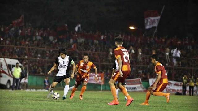 PSM  makasar vs Borneo FC