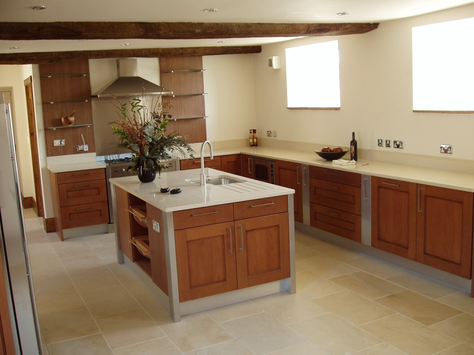How To Improve An Old Tiled Kitchen Wall