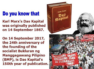 Das Kapital published on 14 Sept 1867