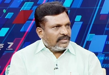 Exclusive Interview with VCK Chief Thol.Thirumavalavan