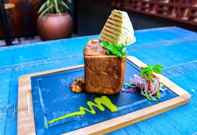 Nosh on 'Bunny Chow' this monsoon only at Three Dots & a Dash