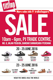 FitFlop Malaysia Sale 2016