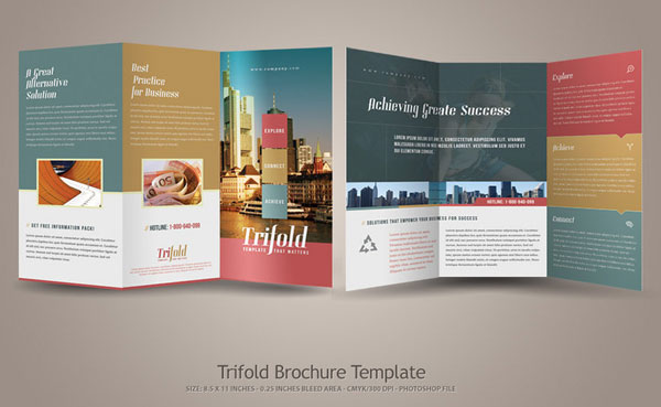 Custom Brochures Printing Designs This Brochure Template Is - Custom brochure templates