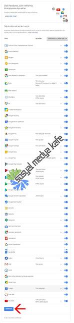 Google Plus Verilerini İndirme