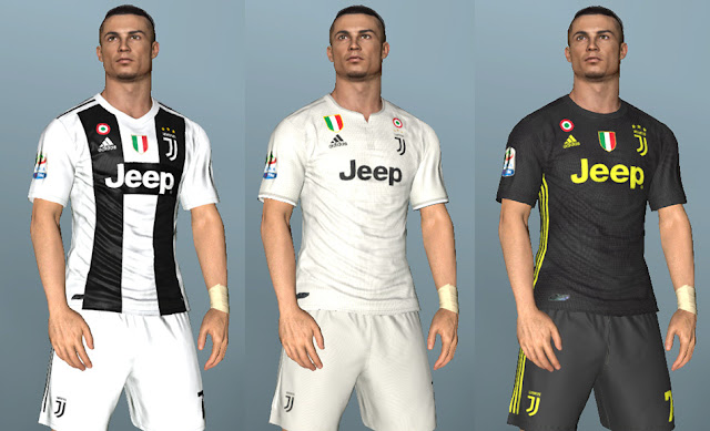 the best attitude 16688 920b5 PES 2017 Juventus Full GDB Kits 2018/2019 - Micano4u | PES ...