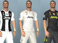 PES 2017 Juventus Full GDB Kits 2018/2019