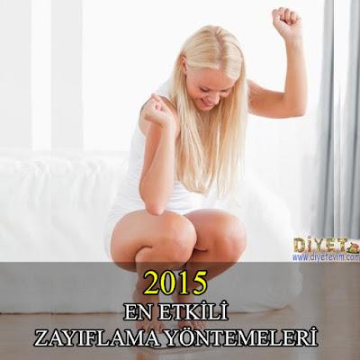 zayıflama yöntemleri 2015