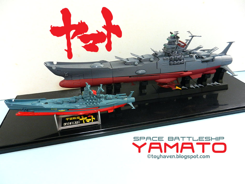 toyhaven: Y is also for Yamato i.e. Space Battleship Yamato