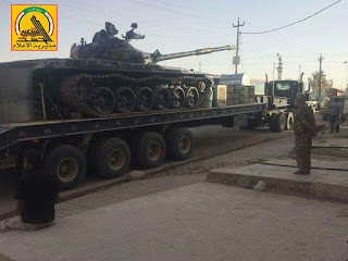العراق:  تعزيزات عراقية عسكرية كبيرة تتجه صوب تلعفر للمشاركة بعملية قادمون يا تلعفر + صور