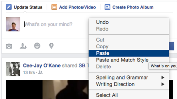 How to Share a Gif on Facebook