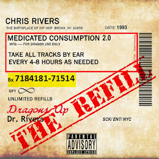 Chris Rivers - Medicated Consumption 2.0. The Refill (2016) - Album Download, Itunes Cover, Official Cover, Album CD Cover Art, Tracklist