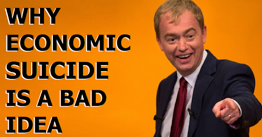 Why economic suicide is a bad idea