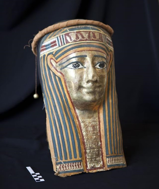 Collection of ancient Egyptian artefacts seized in Naples, Italy