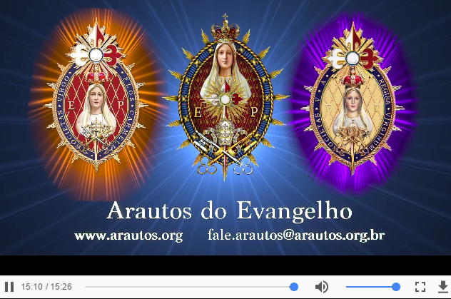 VÍDEO INSTITUCIONAL DOS ARAUTOS DO EVANGELHO