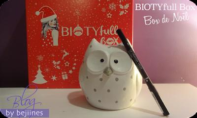 BIOTYfull Box de Noël avril crayon yeux bio