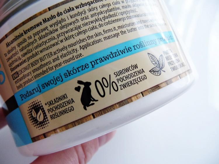 bielenda masło kokosowe vegan friendly